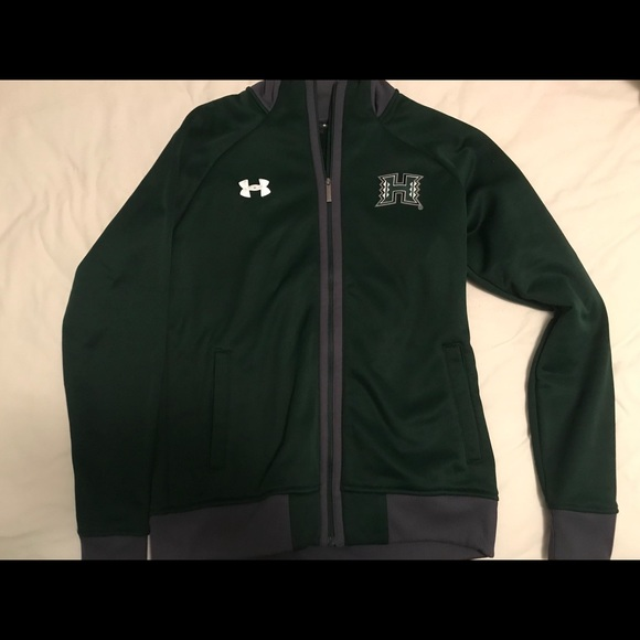 Under Armour Tops - Under armour University of Hawaii zip up!